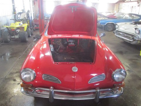 1971 Volkswagen Karmann Ghia numbers matching rust free California car for sale