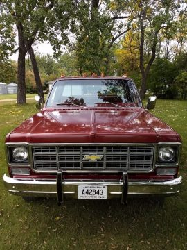 1977 Chevrolet K10 4×4 Cheyenne with 6,313 Actual Original miles for sale