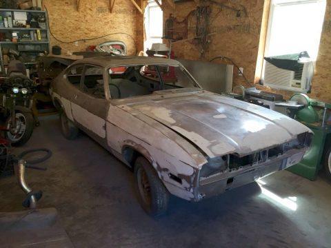 2 1976 Mercury Capri project cars for sale