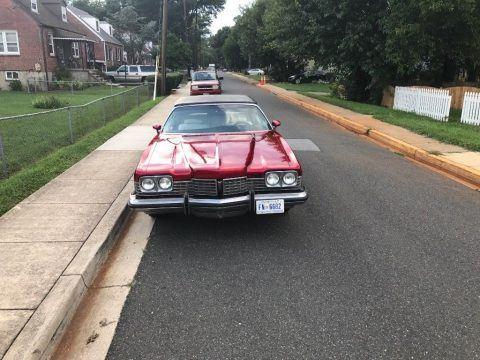 clean 1973 Pontiac Grand Ville Convertible for sale