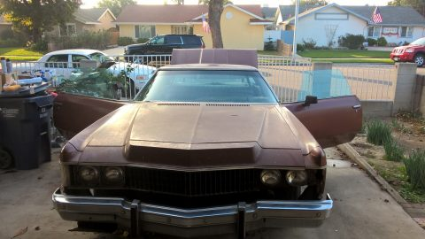 needs restoration 1973 Chevrolet Impala Coupe for sale