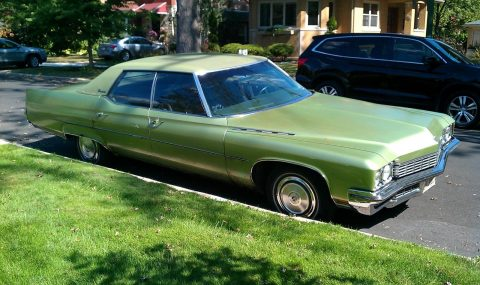 needs TLC 1972 Buick Electra Custom Sedan for sale