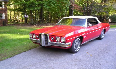 older repaint 1970 Pontiac Catalina Convertible for sale