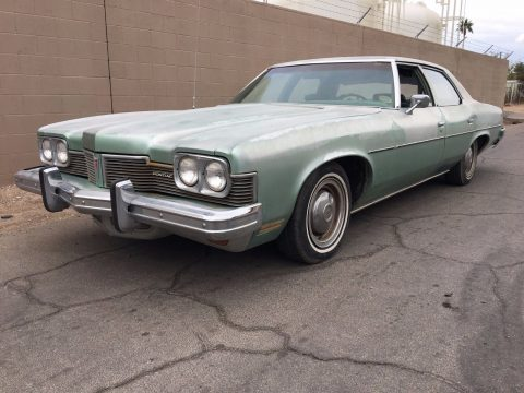 rust free survivor 1973 Pontiac Catalina Sedan original paint for sale