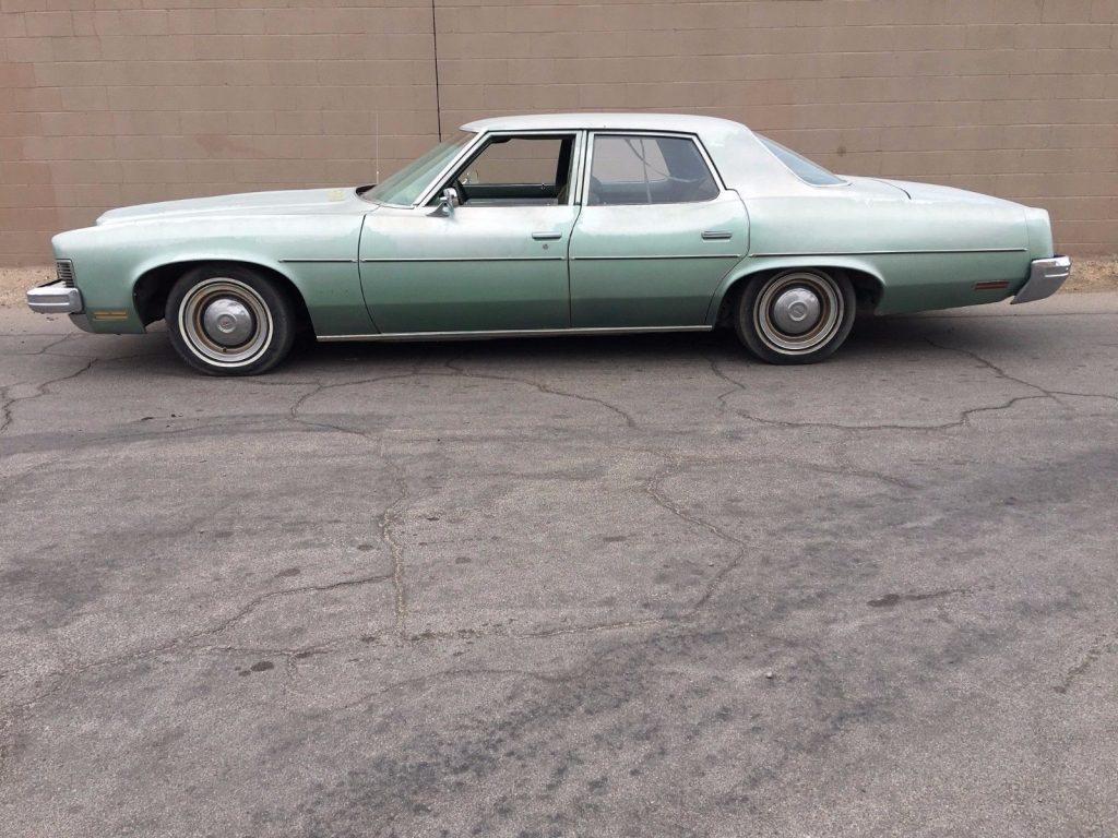 rust free survivor 1973 Pontiac Catalina Sedan original paint for sale
