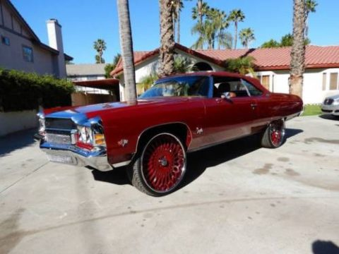 1972 Chevrolet Impala Converible DONK for sale