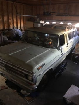 NICE 1971 Ford F 250 for sale