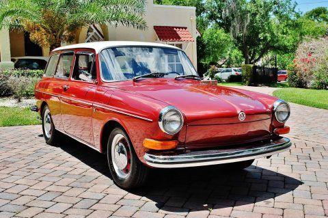 STUNNING 1970 Volkswagen Type III Squareback for sale