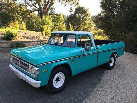 1971 Dodge Pickups – RUNS GREAT for sale